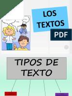1. Tipo de Textos