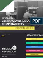 SANCHEZ LUIS - GENERACIONES DE COMPUTADORAS