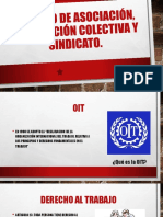 Derecho de Asociación, Negociación Colectiva y Sindicato