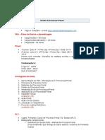 Direito Processual Penal I - 1o semestre