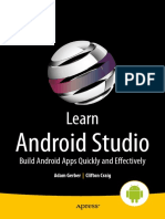 Learning Android Studio