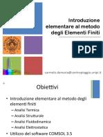 2013-10-01 Elementi Finiti e Analisi Termica