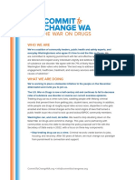 Washington Drug Decriminalization Campaign