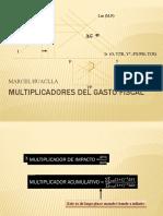 Multiplicadores Del Gasto Fiscal (1)