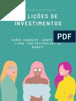 20 lições de investimentos