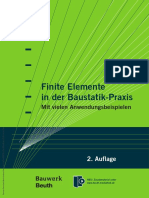Finite Elemente Baustatik-Praxis