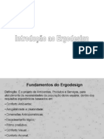 Fundamentos de Ergo-design