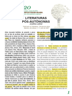 Josefina Ludmer - Literaturas pós-autônomas