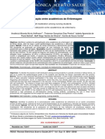 Automedicação entre acadêmicos de Enfermagem