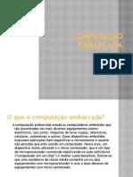 COMPUTAÇÃO EMBARCADA