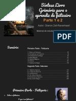 1 e 2 - Síntese Livro Grimório para o aprendiz de feiticeiro - TOCADABRUXA