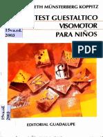 1. El Test Guestaltico Visomotor IDM
