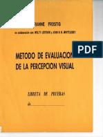 Test de Percepcion Visual Cuadernillo-laminas de Demostracion
