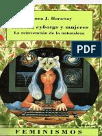 Donna Haraway - Simios, Cyborgues e Mulheres