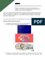 Robótica - Programas - Comunicação - Linguagens de Programação