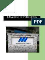 Evidencia 1. Catálogo elaborar etiquetas que permitan la comercialización y distribución de un producto a nivel internacional.