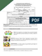 G.I.A No 6 EDUCACIÓN FÍSICA 05°2021