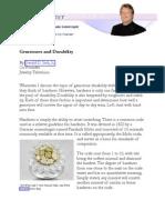 Gemstones and Durability