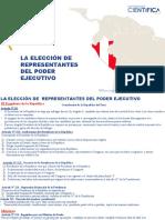 Semana 6.1 - RN Elección de los representantes del Ejecutivo y Legislativo