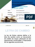 LIBRO SEGUNDO - LETRA DE CAMBIO