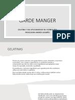 GARDE MANGER AULA 3 - GELATINA