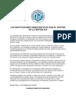 CGT Comunicado