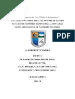 Alcoholes y Fenoles - Grupo 4