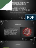 Complicaciones Pulmonares en COVID-19