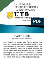 UNIDAD III EL ORIGEN DEL ESTADO