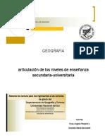 Cuadernillo Ingreso Geografia UNS 2018