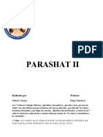 TRABAJO DE MATERIA       PARASHAT II   LOS 7 CIELOS