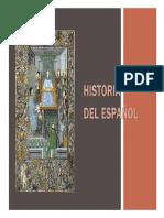 HISTORIA GENERAL DEL ESPAÑOL Y DEL ESPAÑOL DOMINICANO.