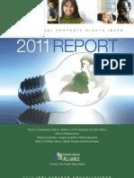 2011 International Property Rights Index