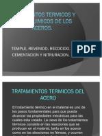 TRATAMIENTOS TERMICOS Y TERMOQUIMICOS DE LOS ACEROS
