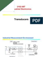 Static caracteristicas sensor