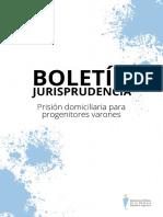 2021.05. Prisión domiciliaria para progenitores varones