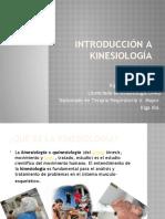 Introducción a la kinesiología