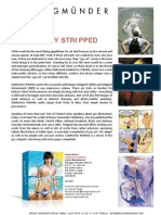 """Completely Stripped"" Press Release for art anthology from Bruno Gmunder"