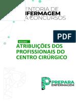 006.RESUMO - ATRIBUIÇÕES DOS PROFISSIONAIS DO CC