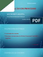 FORMAÇÃO EM PROCESSO CIVIL I 2020 - aula 1 - Noções introdutórias