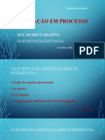FORMAÇÃO EM PROCESSO CIVIL I 2021 - aula 2 - Os sujeitos da instância