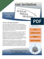Burton Bridge Ministry Brochure