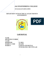 New Linear intergrated circuits( lab Manual)