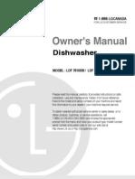 LDF7810owners manual dishwasher