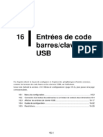 Entrées de Code Barresclavier USB