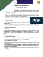TORNEIO de PREPARAÇÃO MASTER - 25-9-2021  (0) (2)