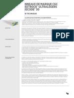CGC-5.8''ultralight-panels-firecode-30-5-8-datasheet-fr-can