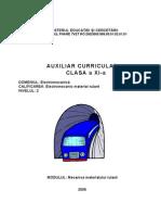 ELECTROMECANICXI MECANICA MATERIALULUI RULANT