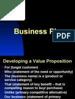 Business Plan Framework