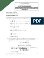 Taller 1 ecuaciones diferenciales  udenar 2021 1